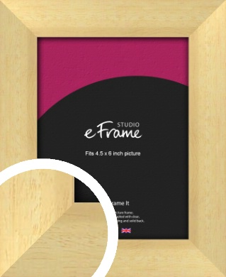 Neutral Natural Wood Picture Frame, 4.5x6