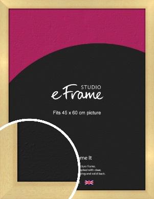 Neutral Natural Wood Picture Frame, 45x60cm (VRMP-430-45x60cm)