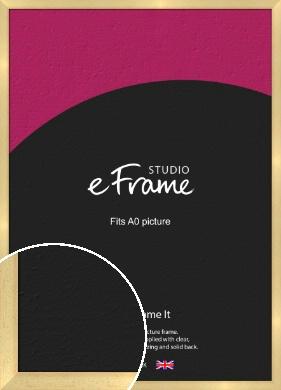 Neutral Natural Wood Picture Frame, A0 (841x1189mm) (VRMP-430-A0)