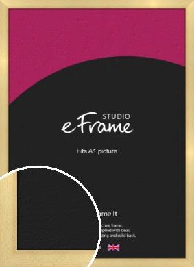 Neutral Natural Wood Picture Frame, A1 (594x841mm) (VRMP-430-A1)