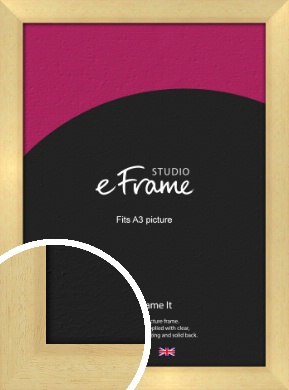 Neutral Natural Wood Picture Frame, A3 (297x420mm) (VRMP-430-A3)