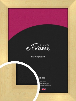 Neutral Natural Wood Picture Frame, A4 (210x297mm) (VRMP-430-A4)