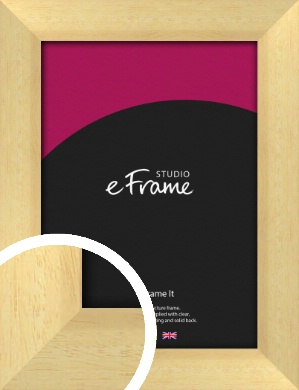 Neutral Natural Wood Picture Frame (VRMP-430)