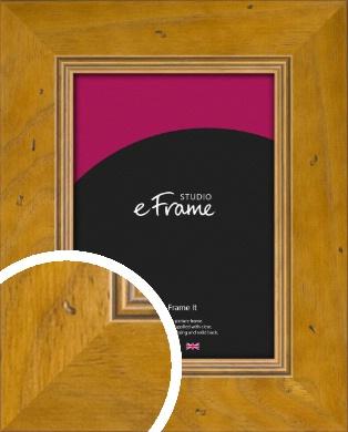 Wide Classic Brown Picture Frame (VRMP-893)