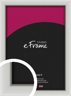 Narrow Basic Silver Picture Frame (VRMP-557)