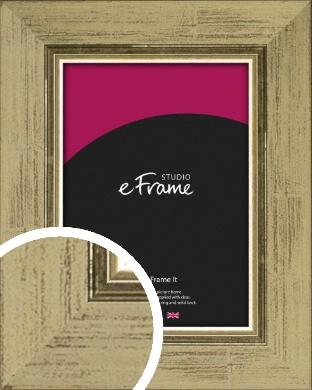 Industrial Gold Picture Frame (VRMP-895)