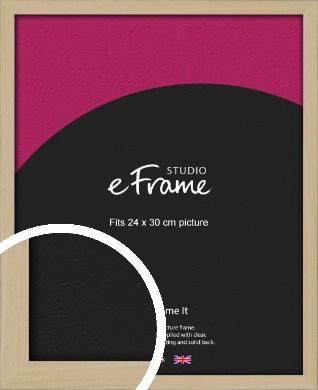 Bohemian Natural Wood Picture Frame, 24x30cm (VRMP-898-24x30cm)