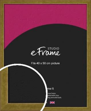 Luxe Gold Picture Frame, 40x50cm (VRMP-901-40x50cm)