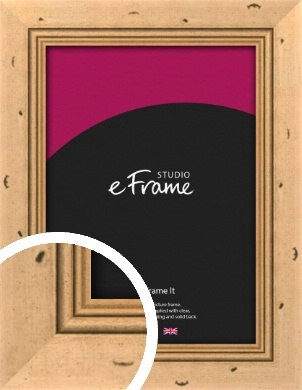 Reclaimed Style Brown Picture Frame (VRMP-281)