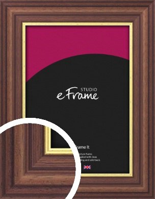 Diploma Style Brown Picture Frame (VRMP-174)