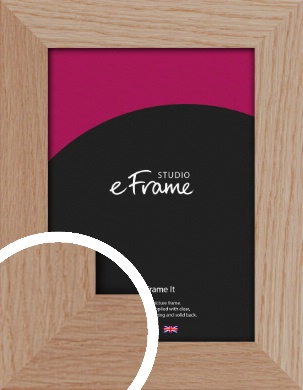 Essential Oak Natural Wood Picture Frame (VRMP-427)