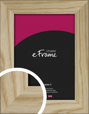 Durable Raw Natural Wood Picture Frame (VRMP-914)