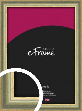 Muted Yellow & Green Picture Frame (VRMP-919)
