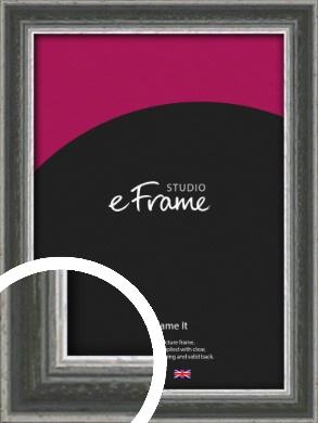 Quirky Multi Tone Silver Picture Frame (VRMP-933)