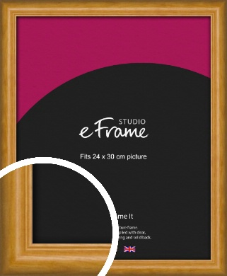 Farmhouse Brown Picture Frame, 24x30cm (VRMP-936-24x30cm)