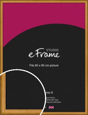 Farmhouse Brown Picture Frame, 60x80cm (VRMP-936-60x80cm)
