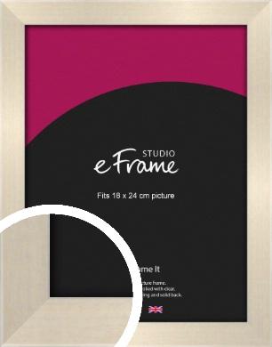Rich Neutral Cream Picture Frame, 18x24cm (VRMP-218-18x24cm)
