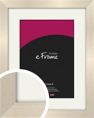 Rich Neutral Cream Picture Frame & Mount (VRMP-218-M)