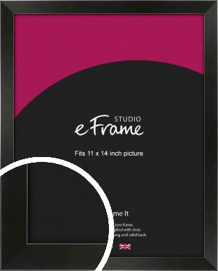 On Trend Linear Black Picture Frame, 11x14