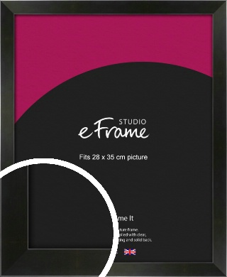 On Trend Linear Black Picture Frame, 28x35cm (VRMP-219-28x35cm)