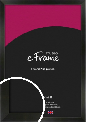 On Trend Linear Black Picture Frame, A3Plus (VRMP-219-329x483mm)