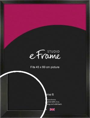 On Trend Linear Black Picture Frame, 45x60cm (VRMP-219-45x60cm)