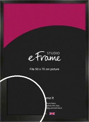 On Trend Linear Black Picture Frame, 50x70cm (VRMP-219-50x70cm)