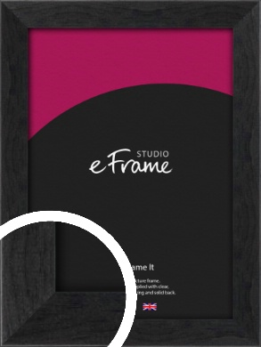 Faded Black Picture Frame (VRMP-221)