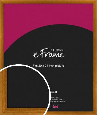 Teak Brown Picture Frame, 20x24