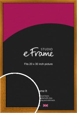 Teak Brown Picture Frame, 20x30