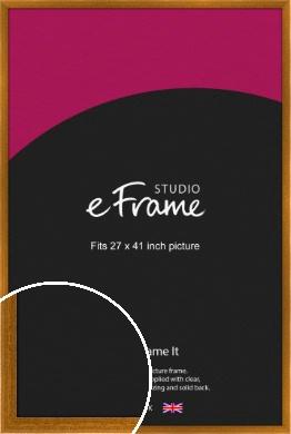 Teak Brown Picture Frame, 27x41