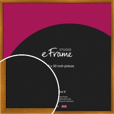 Teak Brown Picture Frame, 30x30