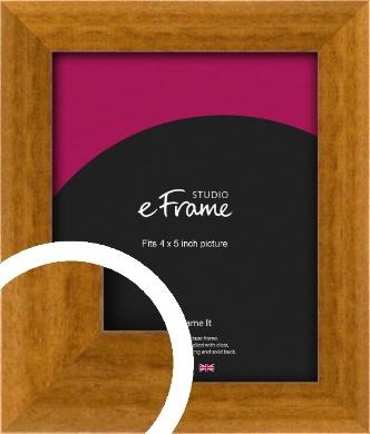 Teak Brown Picture Frame, 4x5