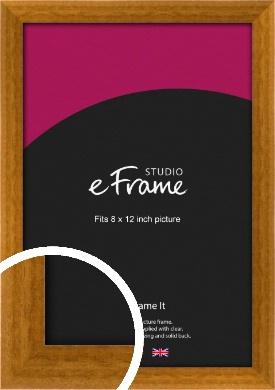Teak Brown Picture Frame, 8x12