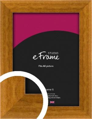 Teak Brown Picture Frame, A6 (105x148mm) (VRMP-173-A6)