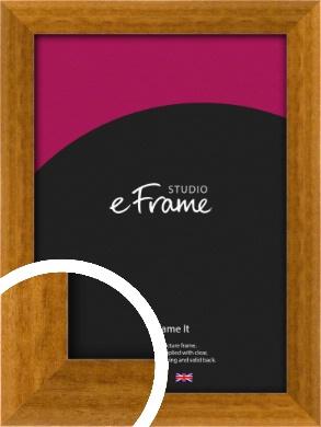 Teak Brown Picture Frame (VRMP-173)