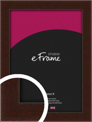 American Walnut Effect Brown Picture Frame (VRMP-222)