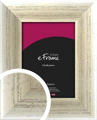 Timeworn Silver Picture Frame, A6 (105x148mm) (VRMP-187-A6)