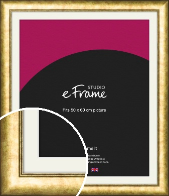 Sumptuous Gold Picture Frame & Mount, 50x60cm (VRMP-943-M-50x60cm)