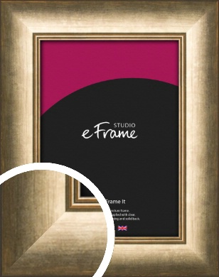 Dark Burnished Bronze / Copper Picture Frame (VRMP-944)