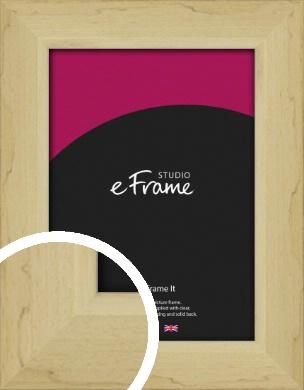 Rustic Light Natural Wood Picture Frame (VRMP-945)