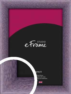 Lavender Purple Picture Frame (VRMP-347)