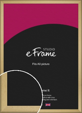 Nature Inspired Natural Wood Picture Frame, A0 (841x1189mm) (VRMP-962-A0)