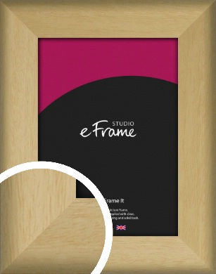 Nature Inspired Natural Wood Picture Frame (VRMP-962)