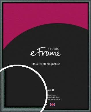 Brushed Satin Black Picture Frame, 40x50cm (VRMP-A054-40x50cm)