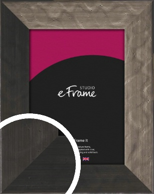 Wide Hammered Bronze / Copper Picture Frame (VRMP-397)