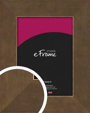 Utilitarian Bronze / Copper Picture Frame (VRMP-970)