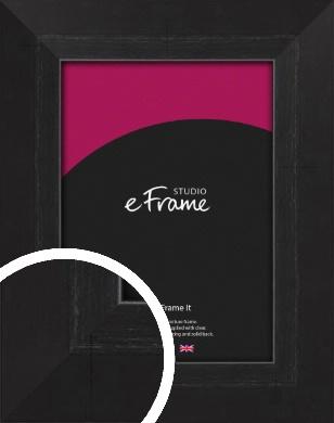 Elegant Bevelled Black Picture Frame (VRMP-579)