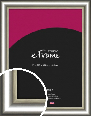 Timeless Chunky Silver Picture Frame, 30x40cm (VRMP-977-30x40cm)