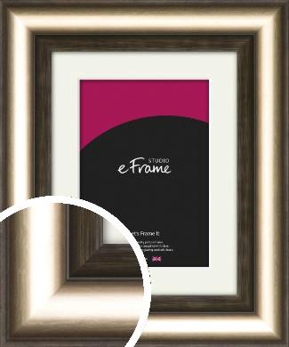 Classic Bronze / Copper Picture Frame & Mount (VRMP-980-M)